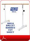 Ballet Barres Cut Sheet(PDF)