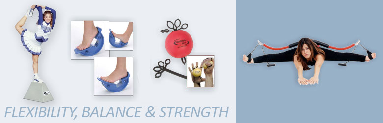Shop Flexibility, Balance and Strength